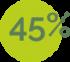 45%-verde