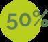 50%-verde